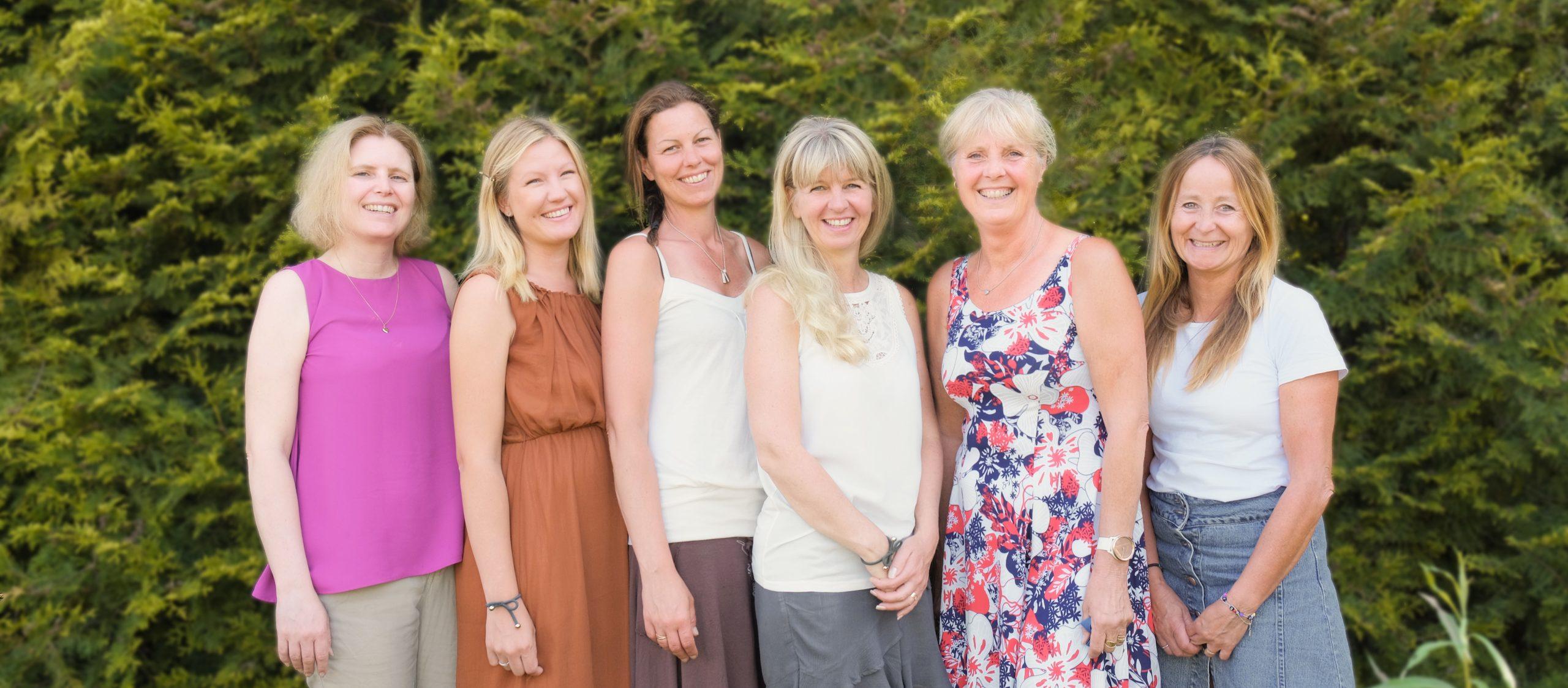 Pernilla, Johanna, Caroline, Sissi, Titti och Minna Saknas på bild: Jessica, Eva